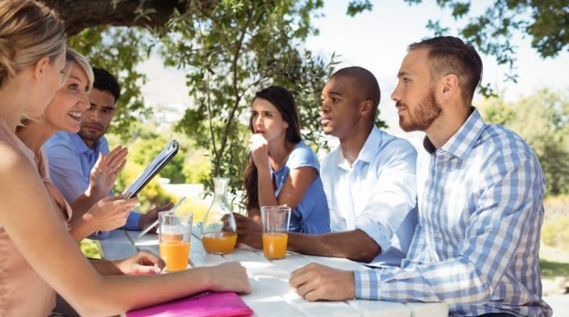 picnic meeting| Building a rural support network
