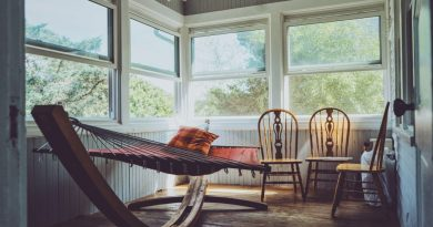 hammock in old house| How to finance a rural property