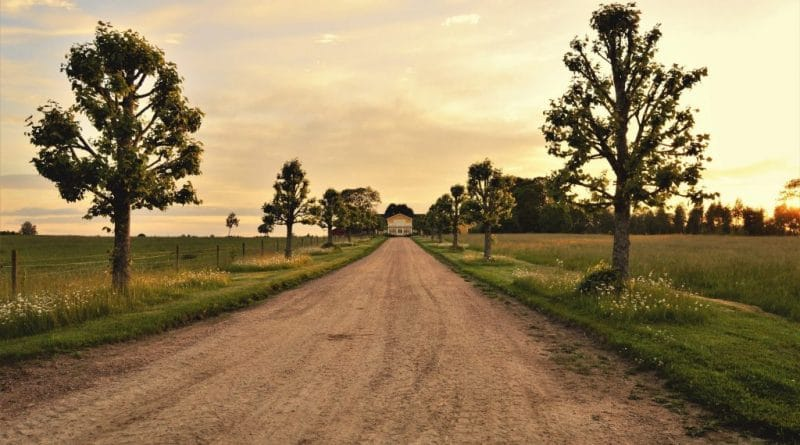 dirt load leading to house| Ins and outs of escaping to the country