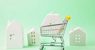 small shopping trolley with plastic house in it| What does the postCOVID property market look like