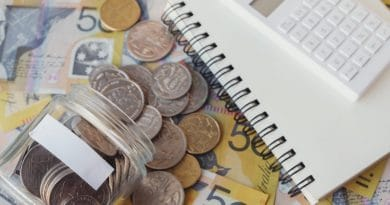 australian money on table  What the federal budget means for real estate