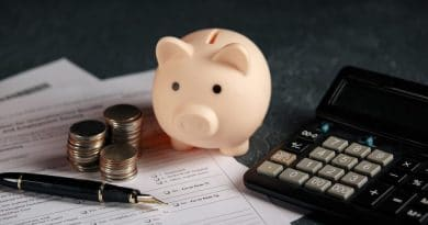 piggy bank and calculator| 20 foundational financial principles you can live by