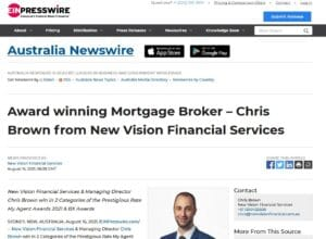 australian newswirenbsp  Chris Brown Mortgage Broker and Real Estate Agent