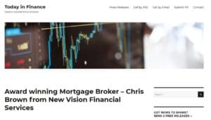 today in financenbsp  Chris Brown Mortgage Broker and Real Estate Agent